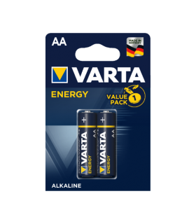 Baterii alcaline R6 AA 2buc/blister Energy Varta