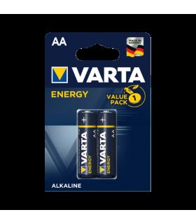 Baterii alcaline R6 AA Energy Varta 2buc/blister