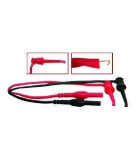 Cablu de masurare 86cm clema cu carlig OneHook cu mufa banana 33cm Maxwell
