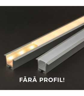 Ecran opal pentru profil LED 1m PHENOM