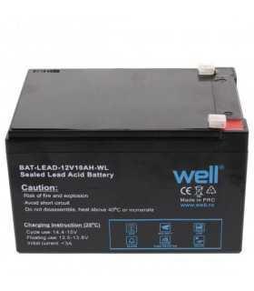 Acumulator plumb acid 12V 10AH Well BAT-LEAD-12V10AH-WL