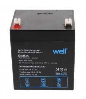 Acumulator plumb acid 12V 5AH Well BAT-LEAD-12V5AH-WL