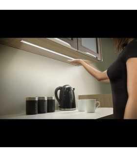 Lumina LED cu senzor de miscare 5W 380lm 4000K ultraslim 300x40x9mm PHENOM