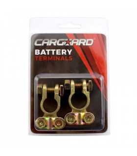 Set 2 borne baterie auto Pozitiv + Negativ Cupru CARGUARD