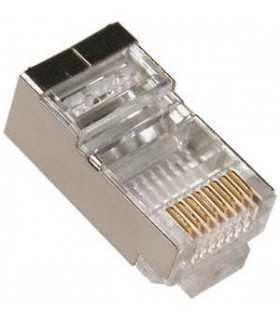 Mufa FTP SOLID CAT6 RJ45 8p8c ecranata