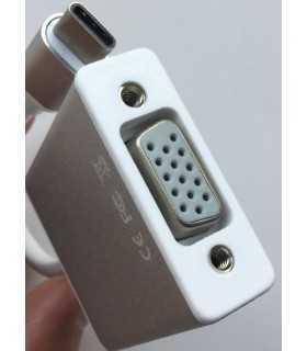 Cablu adaptor USB Type C 3.1 la VGA FullHD Plug&Play