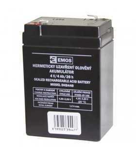 Acumulator plumb acid 4V 4A 70x47x101mm Emos