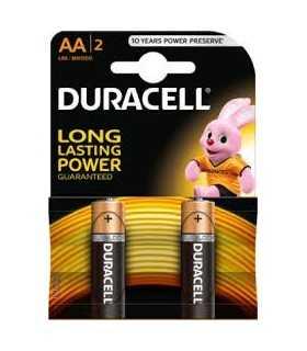 Baterii alcaline AA R6 DURACELL BASIC 2buc/blister