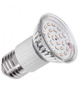 Bec LED 24x 3014 E27 alb cald 3000K alb cald 4.5W 355lm Vipow