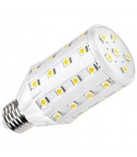 Bec LED 46x 5050 8W 700lm E27 3000K alb cald Vipow