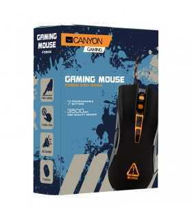 Mouse optic USB gaming 800 1600 2400 3500DPI 7 butoane CANYON CND-SGM3