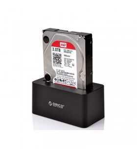 Rack HDD Orico 6619US3 negru USB 3.0 HDD cu docking station