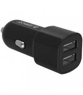 Incarcator auto 2x USB Orico UCL-2U 2.4A x2 5V 3.4A 17W negru