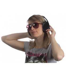 Casti audio stereo fara fir cu functie anulare zgomot HPD30 Velleman