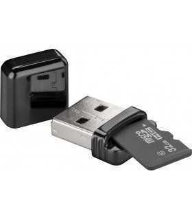 Cititor de card micro SD USB 2.0 Goobay