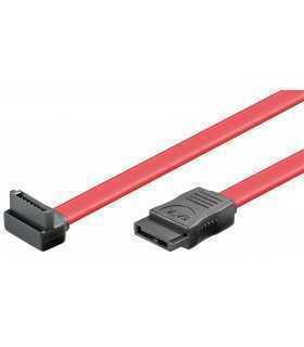 Cablu SATA L-type - SATA L-tyle 90 1.5GBits/ 3GBits 0.5m Goobay