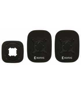 Kit suport negru montare telefon universal Konig