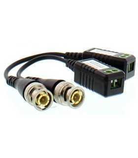 Video balun cu surub pentru cablu FTP UTP Well