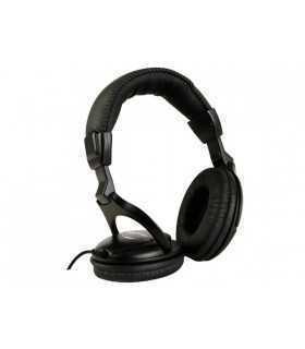 Casti audio stereo negre 3.5mm Jack HPD13 Velleman