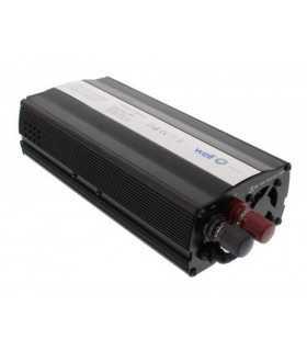 Invertor de tensiune cu USB 12V la 220V 600W Well