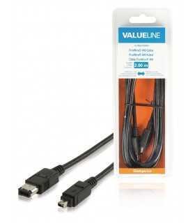 Cablu FireWire 400 4 Pini tata - 6 Pini tata 2m Valueline