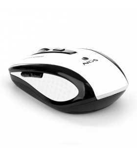 Mouse wireless Flea Advanced alb 800/1600dpi NGS