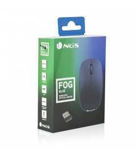 Mouse wireless USB 1000dpi albastru Ngs