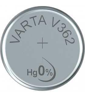 Baterie Varta V362 1.55V 21mAh Silver Oxide pentru ceasuri
