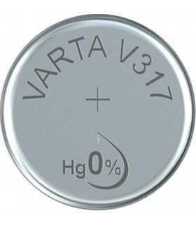 Baterie V317 Varta 1.55V 8mAh Silver Oxide pentru ceasuri
