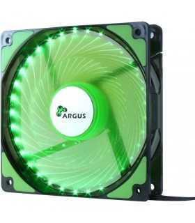 Ventilator 120mm iluminare verde Inter-Tech L-12025 12V