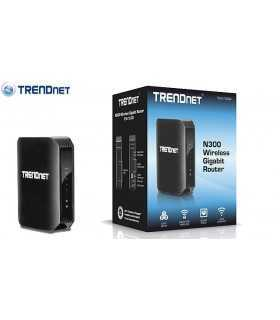 Router Wireless N Gigabit N300 de mare putere Trendnet