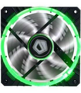 Ventilator ID-Cooling CF-12025-G 120mm 600-1600RPM Concentric Circular LED verde