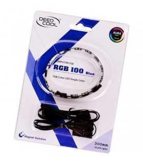 Banda LED 30cm Deepcool 100 iluminare albastra