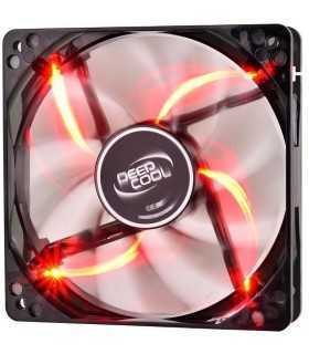 Ventilator Deepcool Wind Blade 120mm 1300RPM iluminare rosie DP-WINDB-RD