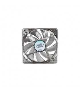 Ventilator Deepcool Xfan 80L/B Clear 80mm 1800RPM iluminare albastra DP-XF80LB