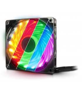 Ventilator Inter-Tech L-12025 Aura 120mm 1500RPM RGB