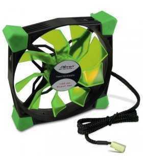Ventilator Inter-Tech CobaNitrox Xtended N-120-GR 120mm 1200RPM LED verde