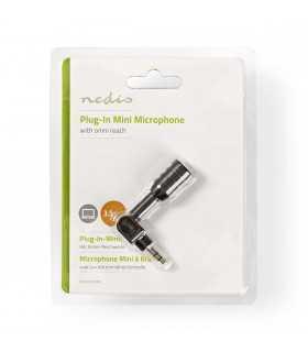 Microfon mini jack 3.5mm negru Nedis