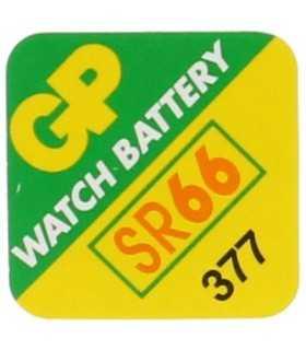 Baterie buton Oxid de argint SR66 AG4 6.8X2.6 GP GP377-A1 20mAH 1.5V