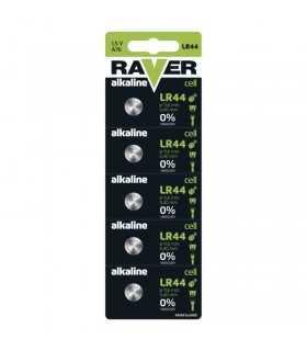 Set baterii alcaline LR44 AG13 RAVER B7970 set 5buc