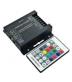 Controller Banda LED cu DIMMER 12V/24V RGB+W 288W V-TAC