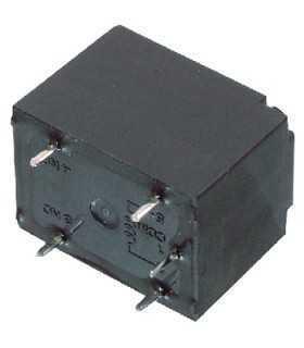 Releu monopolar 12V 10A 250VAC 16x16x22mm NAIS