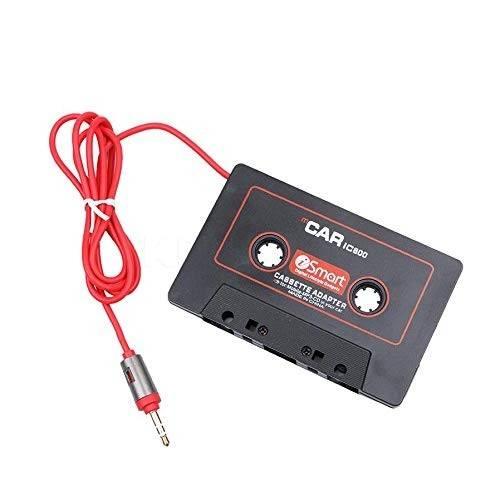 Adaptor caseta audio la Mufa 3.5mm Jack stereo tata pentru auto dotate cu radio-casetofon pentru banda magnetica