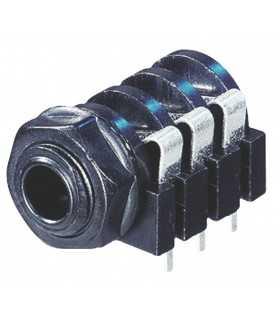 Conector Jack 6.35 mm stereo mama Neutrik