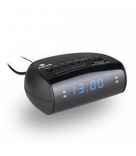 Ceas de masa cu alarma SUNRISE HIT negru NGS