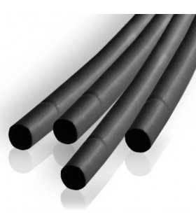 Tub termocontractabil 1.5mm/ 0.75mm negru 0.5m