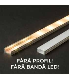 Ecran opal pentru profil aluminiu LED 2000mm 41010M2 Phenom