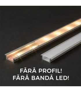 Ecran opal pentru profil aluminiu LED 1000mm 41011M1 Phenom