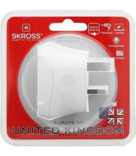 Adaptor priza EU - UK 13A Skross