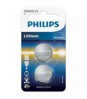 Baterie CR2032 PHILIPS 2buc blister